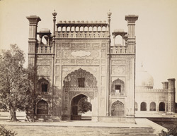Entrance [to the] Jama Masjid, Lahore.